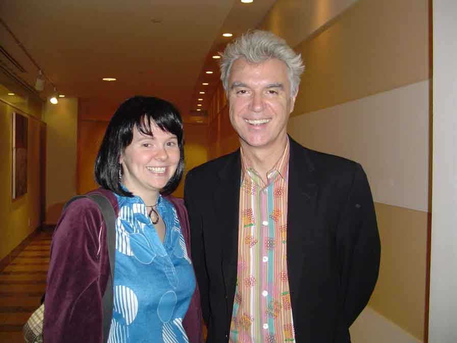 Kate and David Byrne